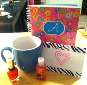 My Cara Box Goodies!