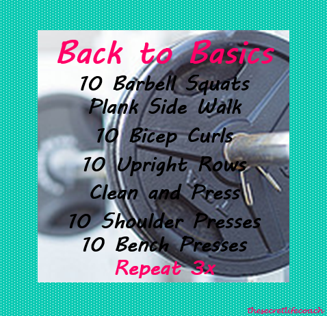 exercise idea, workout idea, workout graphic