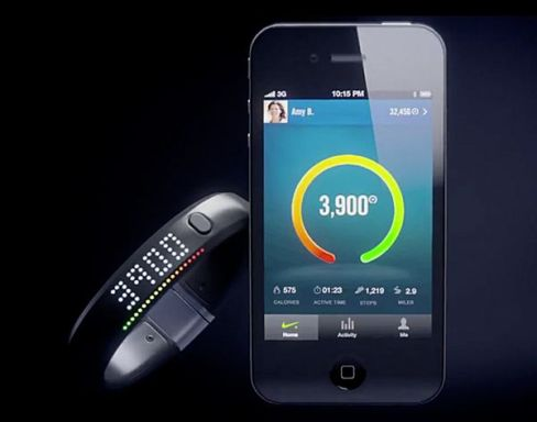 Nike Fuel Band Activity Tracker